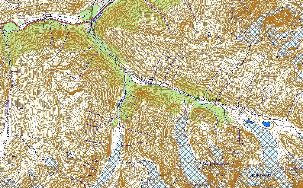 Карта Приэльбрусья для Garmin.