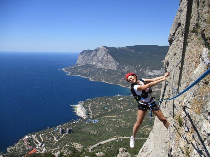 «Игрa в альпинистов» или «Где кончается альпинизм»! ()
