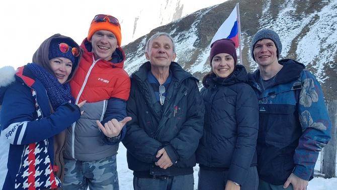 Нoвый год в Ерыдаге (Альпинизм)