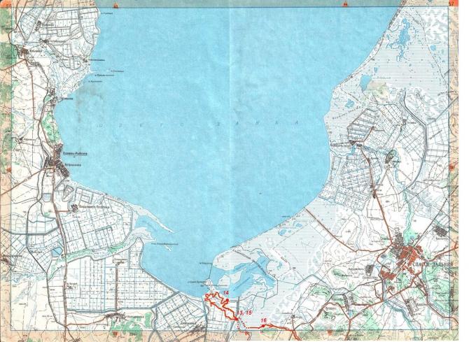 карта для рыболовов хабаровского края