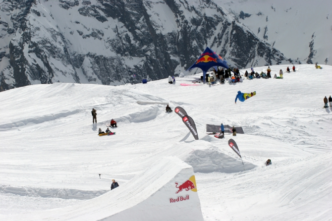 Flammable Camp Dombai '10 by Quiksilver. ИТОГИ (Горные лыжи/Сноуборд)