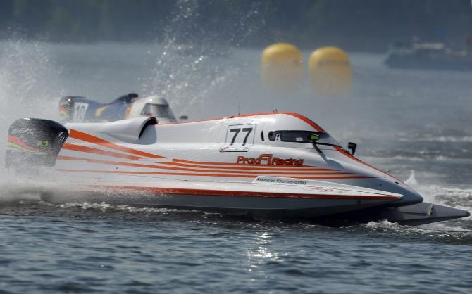 формула 1 бери  моторных лодках