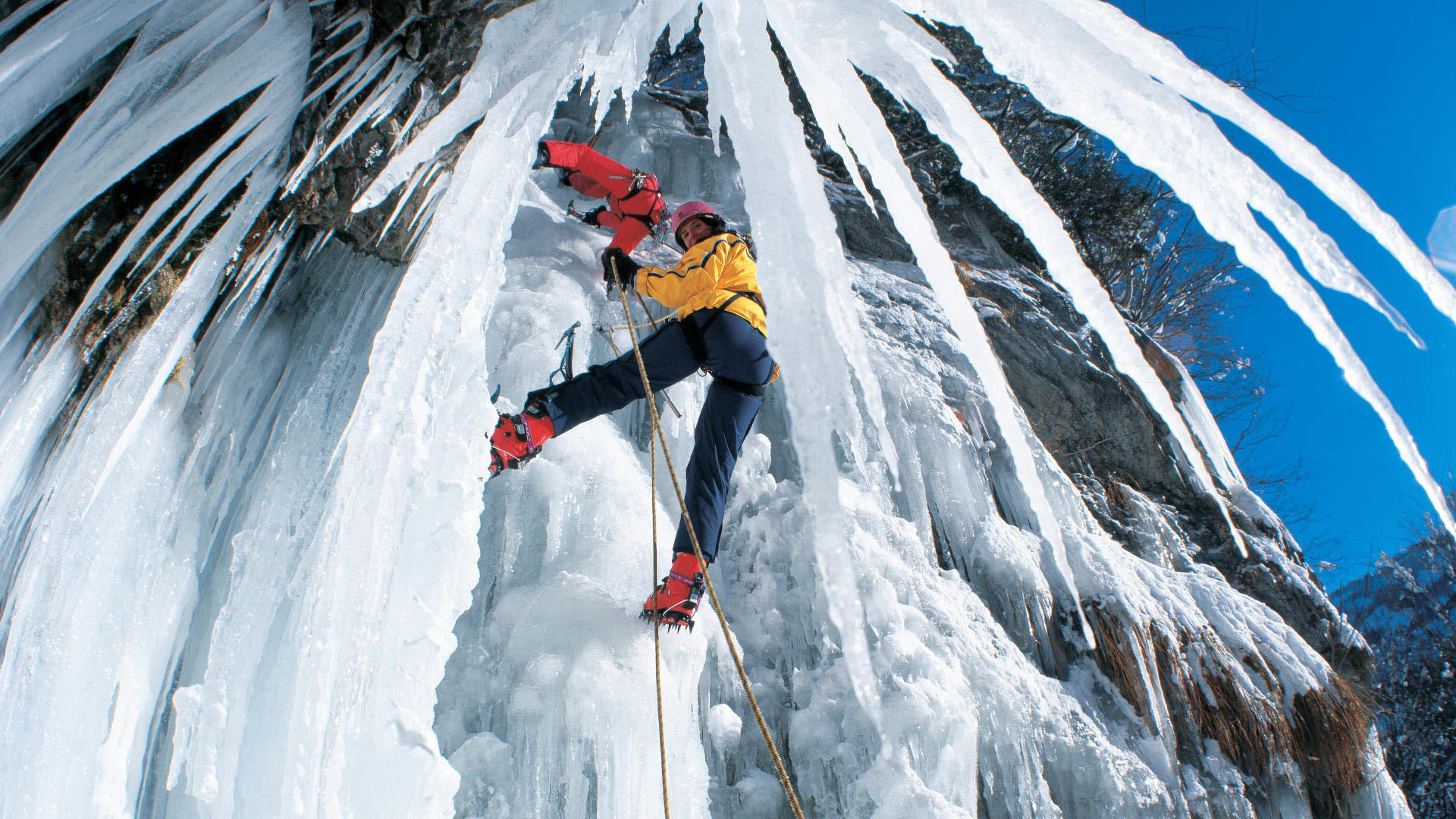природа горы спорт скалолазание  № 3295496  скачать
