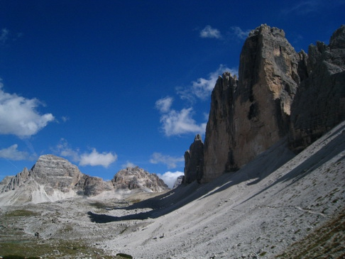 Tre Cime di Lavaredo. Money for food & ice-cream only (Альпинизм, yosyamitya, доломиты, италия, альпинизм, freeclimbing)