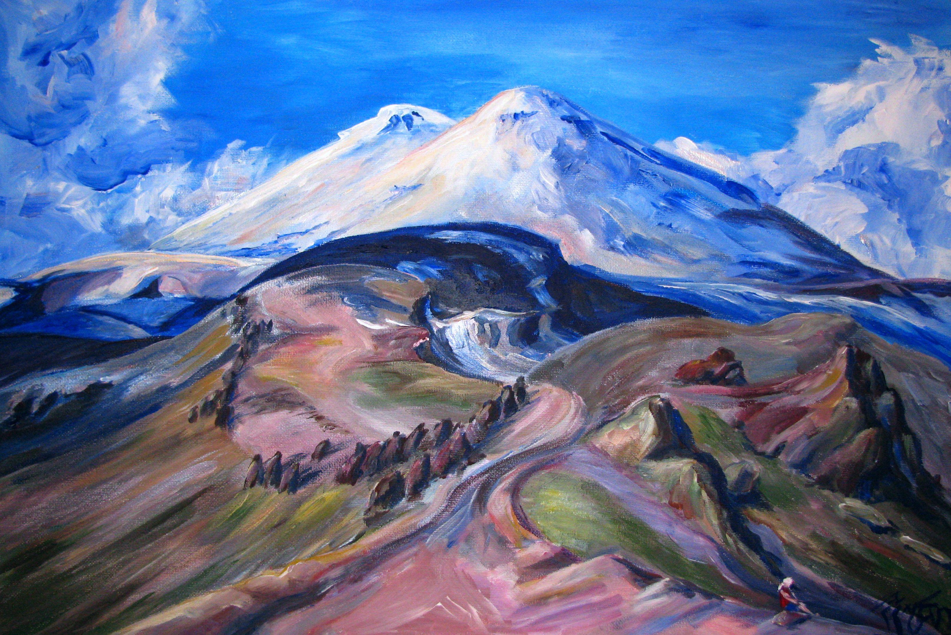 рисунок о горах