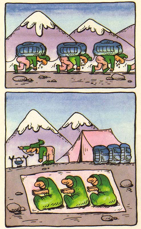 Поздравительных открыток, поход в горы прикольные картинки