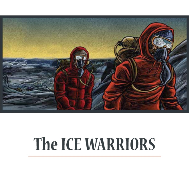 "Перевод комикса ""The Ice Warriors""—  посвященного первой успешной  зимней экспедиции на Эверест (Альпинизм)"