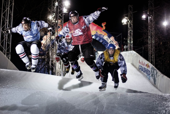 Red Bull Crashed Ice 2013 в России